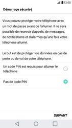 LG G5 - Sécuriser votre mobile - Activer le code de verrouillage - Étape 7