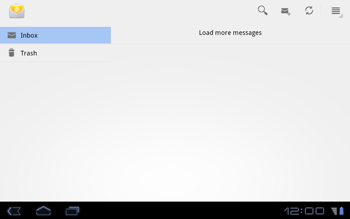 Huawei Mediapad S7-301u - Email - Sending an email message - Step 4