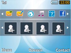 Samsung S3350 Chat 335 - Handleiding - Download gebruiksaanwijzing - Stap 1