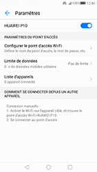 Huawei P10 - Internet et connexion - Partager votre connexion en Wi-Fi - Étape 10