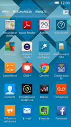 Alcatel OT-5036X Pop C5 - E-mail - Envoi d
