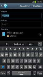 Samsung N7100 Galaxy Note II - Internet - hoe te internetten - Stap 6