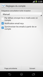 Sony C6903 Xperia Z1 - E-mail - Configuration manuelle - Étape 17