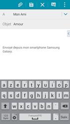 Samsung G850F Galaxy Alpha - E-mail - envoyer un e-mail - Étape 8