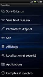 Sony Ericsson Xpéria Arc - Aller plus loin - Désactiver les données à l'étranger - Étape 3