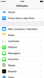 Apple iPhone 5s iOS 8 - Email - Configurar a conta de Email -  4