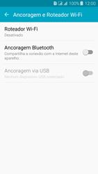 Samsung Galaxy J3 Duos - Wi-Fi - Como usar seu aparelho como um roteador de rede wi-fi - Etapa 5