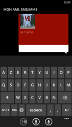 HTC Windows Phone 8X - MMS - Envoi d
