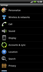 HTC A9191 Desire HD - Internet - Manual configuration - Step 4