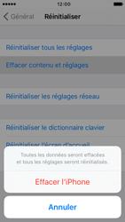 Apple iPhone SE - Aller plus loin - Restaurer les paramètres d'usines - Étape 6