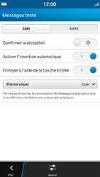 BlackBerry Z30 - SMS - Configuration manuelle - Étape 6