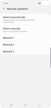 Samsung Galaxy S10 Plus - Network - Manually select a network - Step 10
