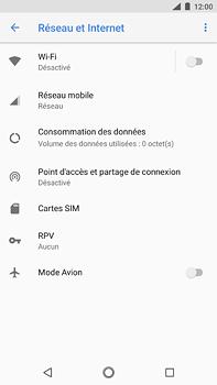 Nokia 6 (2018) - Wifi - configuration manuelle - Étape 4