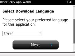 BlackBerry 9800 Torch - Applicaties - Applicaties downloaden - Stap 7