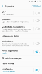 Samsung Galaxy A3 (2017) - Internet no telemóvel - Como configurar ligação à internet -  5
