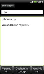 HTC A7272 Desire Z - E-mail - hoe te versturen - Stap 7