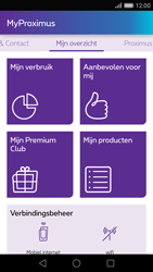 Huawei P8 - Applicaties - MyProximus - Stap 12