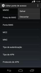 Motorola Moto G - Internet (APN) - Como configurar a internet do seu aparelho (APN Nextel) - Etapa 15