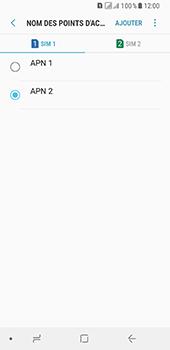 Samsung Galaxy A8 (2018) - Internet - configuration manuelle - Étape 20
