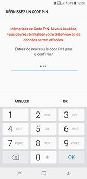 Samsung Galaxy J6 - Sécuriser votre mobile - Activer le code de verrouillage - Étape 10