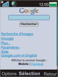 Sony Ericsson W595 - Internet - Navigation sur internet - Étape 5