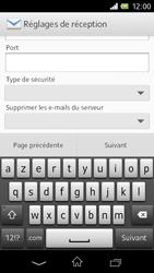 Sony C1905 Xperia M - E-mail - Configuration manuelle - Étape 9