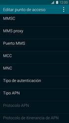 Samsung G900F Galaxy S5 - Mensajería - Configurar el equipo para mensajes multimedia - Paso 12