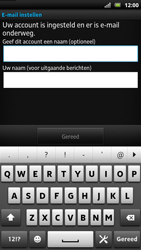 Sony LT22i Xperia P - E-mail - Handmatig instellen - Stap 17