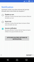 Sony Xperia X Compact - E-mail - Configurer l