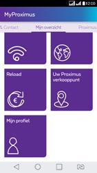 LG K8 - Applicaties - MyProximus - Stap 21