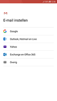 Samsung Galaxy J4 - E-mail - handmatig instellen (gmail) - Stap 8
