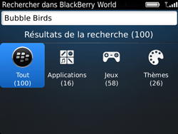 BlackBerry 9720 Bold - Applications - Télécharger des applications - Étape 6