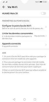 Huawei Mate 20 - Internet - comment configurer un point d'accès mobile - Étape 6