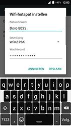 Doro 8035-model-dsb-0170 - WiFi - Mobiele hotspot instellen - Stap 10