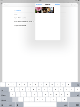 Apple iPad Pro 12.9 (1st gen) - iOS 9 - E-mail - Envoi d
