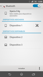 Sony Xperia E4g - Bluetooth - Conectar dispositivos a través de Bluetooth - Paso 8