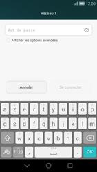 Huawei Ascend G7 - Wifi - configuration manuelle - Étape 6