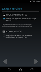 Sony Xperia Z3 4G (D6603) - Applicaties - Account aanmaken - Stap 13