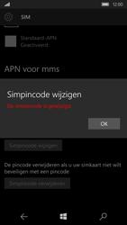 Microsoft Lumia 650 (Type RM-1152) - Beveiliging en ouderlijk toezicht - Hoe wijzig ik mijn SIM PIN-code - Stap 12
