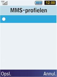 Samsung C3350 Xcover 2 - MMS - handmatig instellen - Stap 18