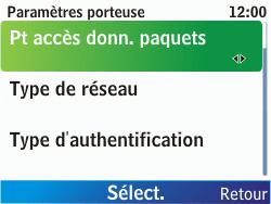 Nokia C3-00 - Internet - Configuration manuelle - Étape 11