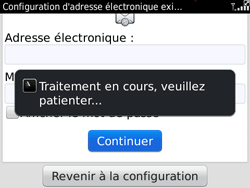 BlackBerry 9780 Bold - E-mail - Configuration manuelle - Étape 7