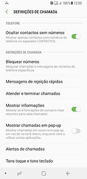 Samsung Galaxy A8 (2018) - Chamadas - Como bloquear chamadas de um número -  6