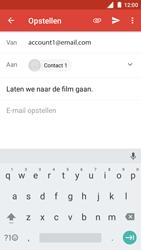 Nokia 5 - E-mail - Bericht met attachment versturen - Stap 8