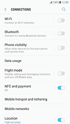 Samsung Galaxy S7 - Android Nougat - WiFi and Bluetooth - Setup Bluetooth Pairing - Step 5