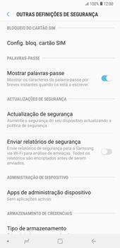 Samsung Galaxy Note9 - Segurança - Como ativar o código PIN do cartão de telemóvel -  6