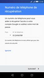 Huawei Y6 - Applications - Créer un compte - Étape 13