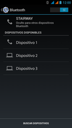 Wiko Stairway - Bluetooth - Conectar dispositivos a través de Bluetooth - Paso 6