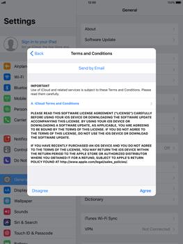 Apple Apple iPad Pro 9.7 - iOS 11 - Device maintenance - Create a backup of your data - Step 6