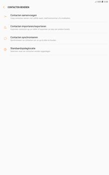 Samsung galaxy-tab-a-10-1-android-oreo - Contacten en data - Contacten kopiëren van toestel naar SIM - Stap 6